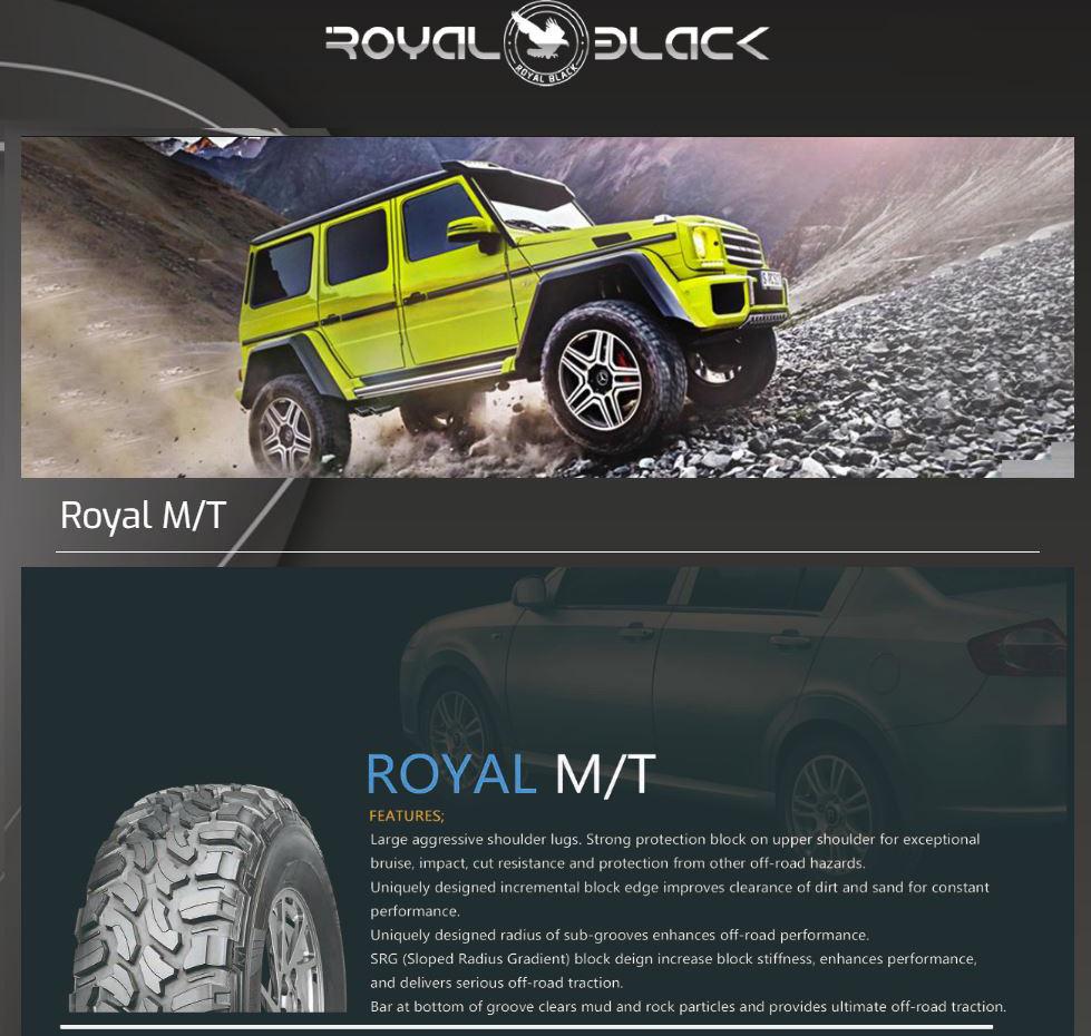 245/75R16 120/116Q Royal Black Royal M/T