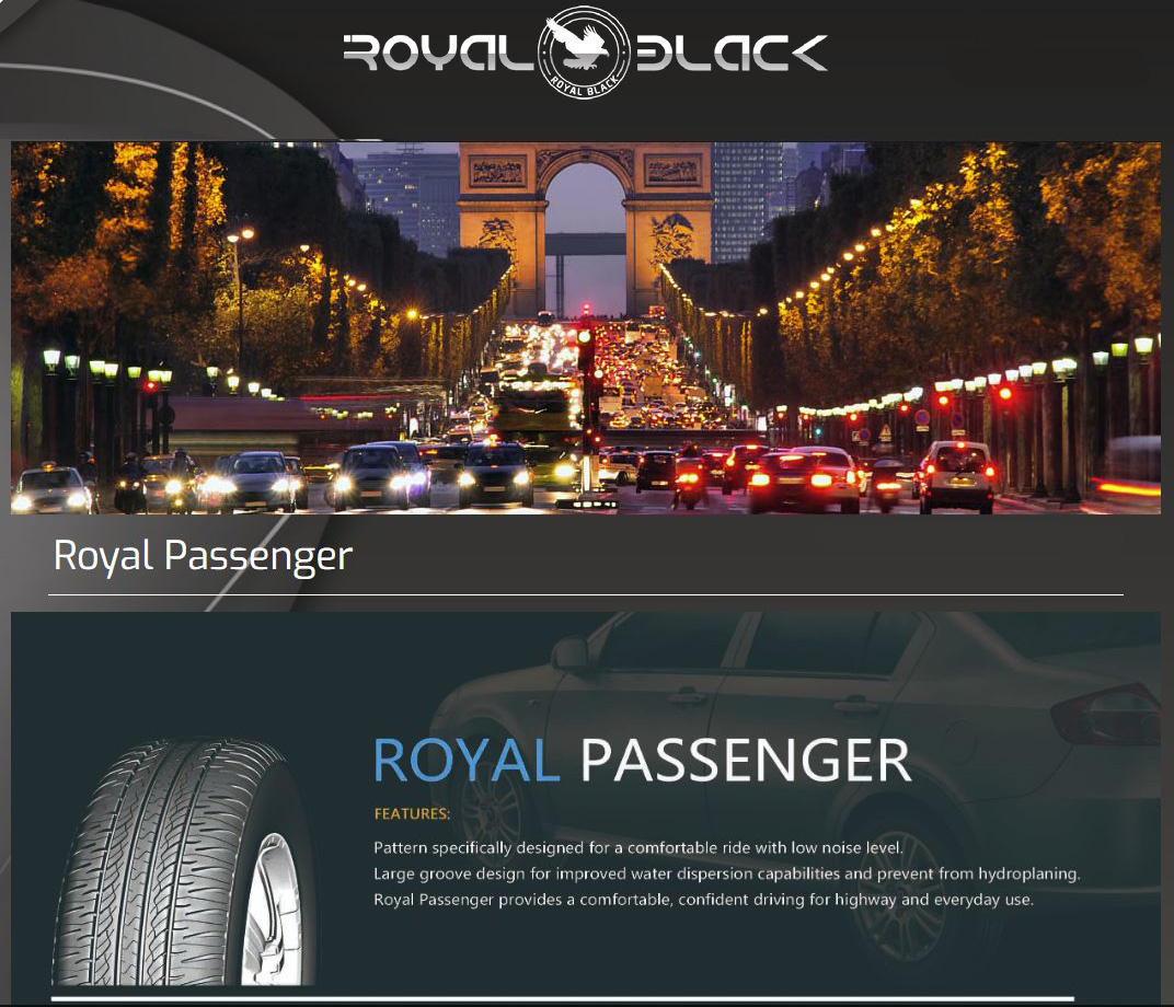 Royal Black Royal Passanger